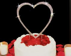 Product Type: Wedding Cake ToppersItem Number: completelycoveredsnghrt