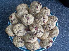 #FoodFunHop :: Oatmeal Cranberry Cookies by http://savvysavingcouple.net