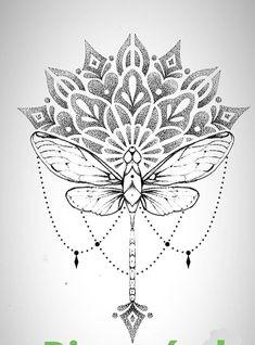 Mandala Drawing, Mandala Tattoo, Mandala Art, Arabesque, First Tattoo, Drawing Reference, Tattoo Inspiration, Tatoos, Tattoo Designs