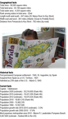 Florida state facts for kids http://firstchildhoodeducation.blogspot.com/2013/08/florida-state-facts-for-kids.html