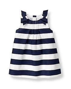 Navy Striped Dress - Janie & Jack
