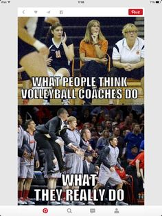 Except my my coach jumps ten times higher and yells ten times louder volleyball memes, Volleyball Jokes, Volleyball Problems, Volleyball Workouts, Coaching Volleyball, Volleyball Players, Really Funny Memes, Funny Relatable Memes, Volleyball Inspiration, Sports Memes