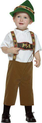 German style costume for kids gotta love the lederhosen and the alp