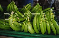 Gluten-Free Pasta Made With Bananas? Check it out here: http://www.triumphdining.com/blog/2012/06/28/gluten-free-pasta-made-with-bananas/#