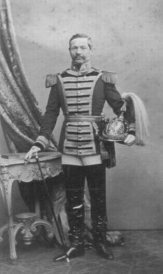 Colonel Johann von Wittek, Austrian Trabanten Leibgarde Adele, Austria, Empire House, Imperial Army, Austro Hungarian, Men In Uniform, Military Uniforms, Armed Forces, Wwi