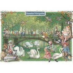 Düsseldorf Königsallee - Tausendschön - Postkarte