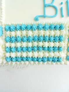 Culinary Couture: Baby Shower Quilt Cake