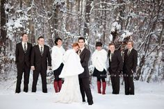 Real Wedding Inspiration: 9 Cozy and Elegant Winter Weddings | Fizara DIY Photo Albums