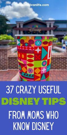Disney World Tips from Moms Who Know Disney ~ That Minivan Life