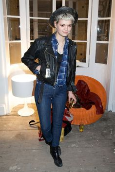 Pixie Geldof Pixie Geldof, Zendaya, Rihanna, Style Icons, Women Wear, Black Leather, Punk, Earth, Clothes