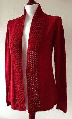 Juneberry Cardigan by emteedee on Ravelry