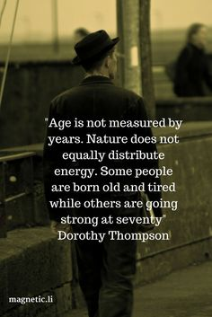 Age really is just a number, and should never be a barrier against opportunity or achievement. Read my blog post to discover how to stay young