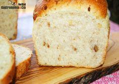 Receta de pan de molde enriquecido (Con nueces y parmesano)