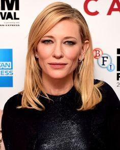 """252 curtidas, 2 comentários - Cate Blanchett Fans (@iheartcate) no Instagram: """"❤ #CateBlanchett ❤"""""""