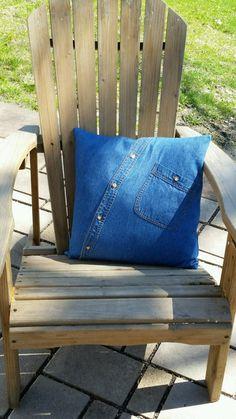 Custom shirt pillow, Memory pillow, My Dad's shirt, In memory of, Keepsake, Throw pillow, Shirt pill