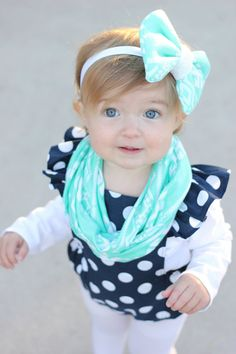 Christmas gift Baby Infinity Scarf Toddler Infinity by NeAccessory