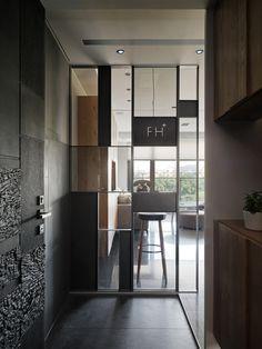 日作設計,室內設計,住宅裝修 Divider Design, Partition Design, Foyer Design, Window Design, Home Building Design, House Design, Modern Interior, Interior Architecture, Door Dividers