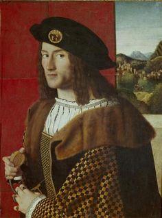 Bartolomeo Veneto, Portrait of a Gentleman, 1520