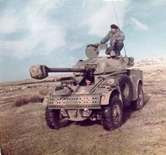Panhard armoured car, Falklands war 1982, pin by Paolo Marzioli