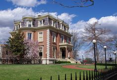 Governor's Mansion, Jefferson City, Missouri - actually had brunch there at a birthday party for my mom! :-D