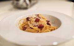 Spaghetti alla Carbonara von cookingsociety.at Spaghetti, Pasta, Ethnic Recipes, Food, New Recipes, Fresh, Koken, Food Food, Noodles