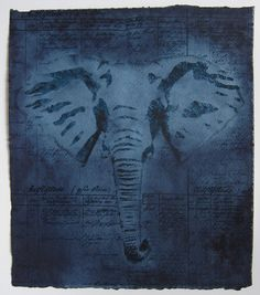 Original Animal Painting by Pia Lilenthal Original Art, Original Paintings, Buy Art, Paper Art, Screen Printing, Watercolor Paintings, Saatchi Art, Elephant, The Originals