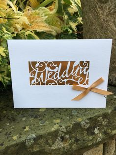 Bride and Groom plus Trellis and sentiments Wedding die cut shapes