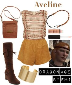Dragon Age - Aveline, created by emi-watson on Polyvore