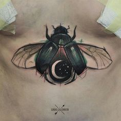sternum taaaatt. love the colors in the bug and the moon