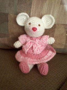 Amigurumi crochet ratita (proyecto terminado 9/3