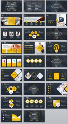 """查看我的 @Behance 项目:""""26+ company business Year report PowerPoint Template""""https://www.behance.net/gallery/64121215/26-company-business-Year-report-PowerPoint-Template"""