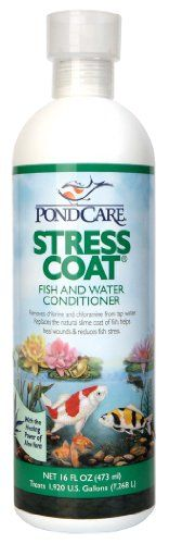 PondCare Stress Coat Water Conditioner, 16-Ounce « DogSiteWorld-Store