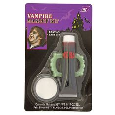 This vampire makeup set will be a hit at your next fancy dress or Halloween party. Makeup Tray, Makeup Set, Costume Accessories, Fancy Dress, Halloween Party, Masks, Campaign, Make Up, Kit
