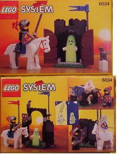 Vintage LEGOs - We had this glowing ghost!