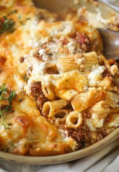 Ina Garten's Pastitsio (1) From: Vodka And Biscuits, please visit