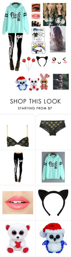 """""""New Anon ~ Rosie"""" by nessa909 ❤ liked on Polyvore featuring Fiebiger and Brinley Co"""
