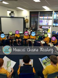 Spice up your Reading Block with Musical Chairs Reading Miss Jacobs Little Learners