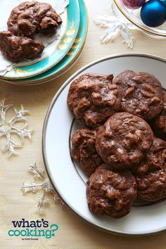 Baker's One-Bowl Chocolate Chunk Cookies #recipe