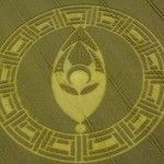 New amazing video footage of a Crop Circle found at Cooks Plantation near Beckhampton, United Kingdom on 23rd August 2013.