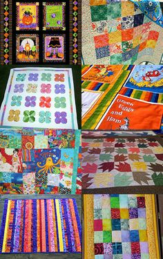 Team QQQ Play it Forward  ..Colourful Quilts by Stephanie Hateley on Etsy--Pinned with TreasuryPin.com