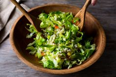 Romaine Salad with Couscous Confetti Recipe - NYT Cooking