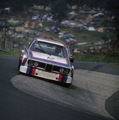The BMW 3.0 CSL of Hans-Joachim Stuck and Chris Amon, winner of the Touringcar Grand Prix 1973 (qualifying: 8:20.4)