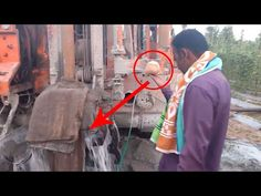 Ground Water Testing With Coconut And With Machar Borewell Drilling