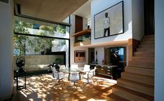 Interior at Victoria 73, Bantry Bay, Cape Town, South Africa by SAOTA - Stefan Antoni Olmesdahl Truen Architects