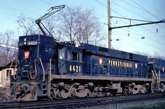 Pennsylvania Railroad General Electric E-44 Electric Freight Locomotive #4421.