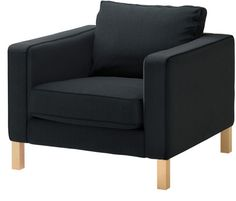 Ikea chair - Charcoal Grey