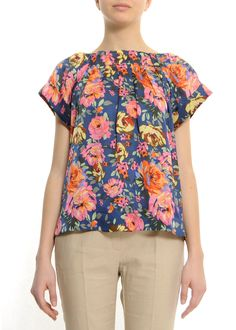 blouson flower top from mango $59.90
