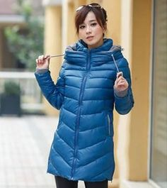 Winter Fashion Hot Sale Blue Coat