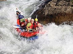 Those in the rafting know say the Ash River in Clarens in the Free State is the best one-day white-water adventure in South Africa. South Afrika, Abseiling, Free State, Floating In Water, Adventure Activities, Amazing Adventures, Team Building, Rafting, Where To Go