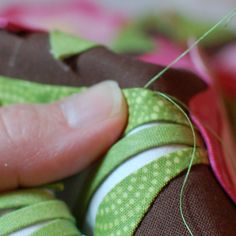 Amazing appliqué and general sewing tutorials from an old pro
